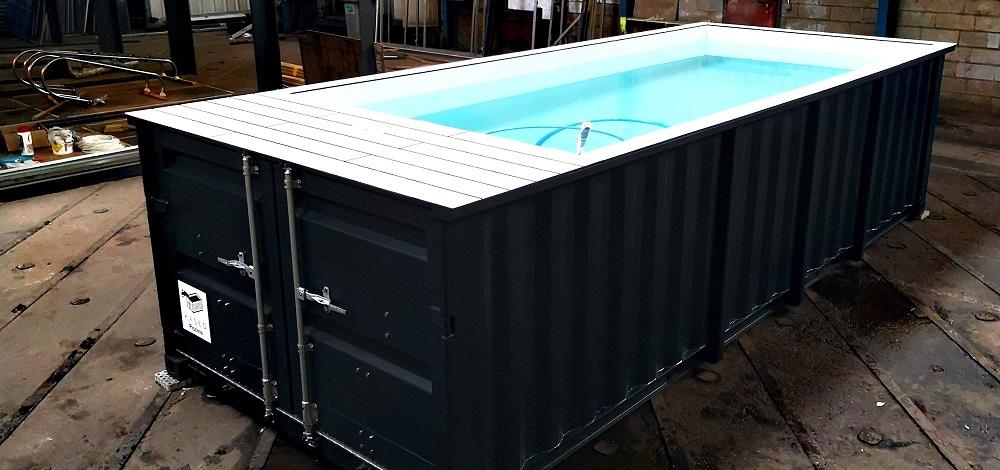 Comment est fabriquée la piscine container KASEO ?